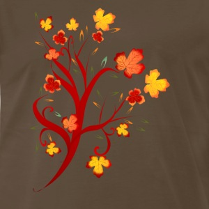 Autumn Tree Design - Men's Premium T-Shirt