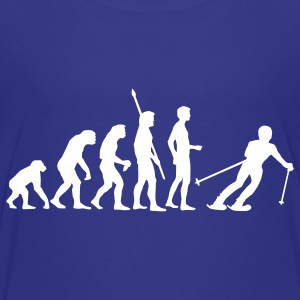 Royal blue evolution_ski Kids' Shirts - Kids' Premium T-Shirt