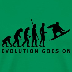 Sage evolution_snowboard_b T-Shirts