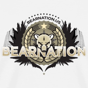 BEARNATION.us Military Sir T-shirt - Men's Premium T-Shirt