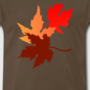 Three Leaves - Men's Premium T-Shirt