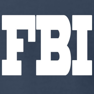 Navy fbi wt T-Shirts - Men's Premium T-Shirt