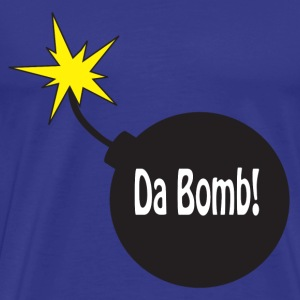 Royal blue dabomb T-Shirts - Men's Premium T-Shirt