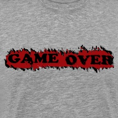 Heather grey gameover T-Shirts