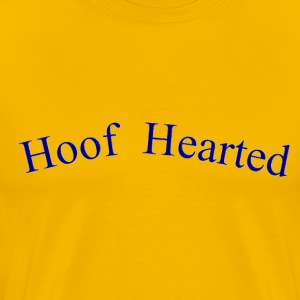 Gold Hoof Hearted T-Shirts - Men's Premium T-Shirt