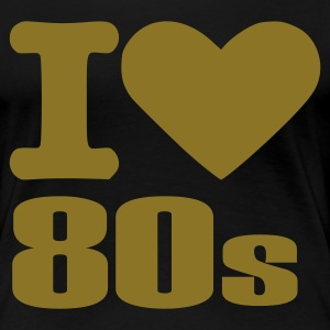 Black Birthday - 80's Plus Size - Women's Premium T-Shirt