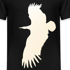Big White Bird - Toddler Premium T-Shirt