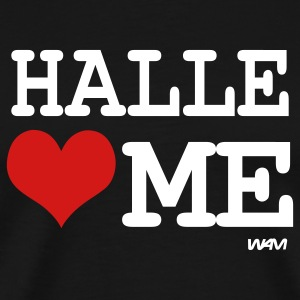 Black halle loves me by wam T-Shirts - Men's Premium T-Shirt