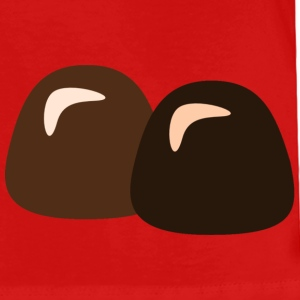 Red Chocolate Truffles Toddler Shirts - Toddler Premium T-Shirt