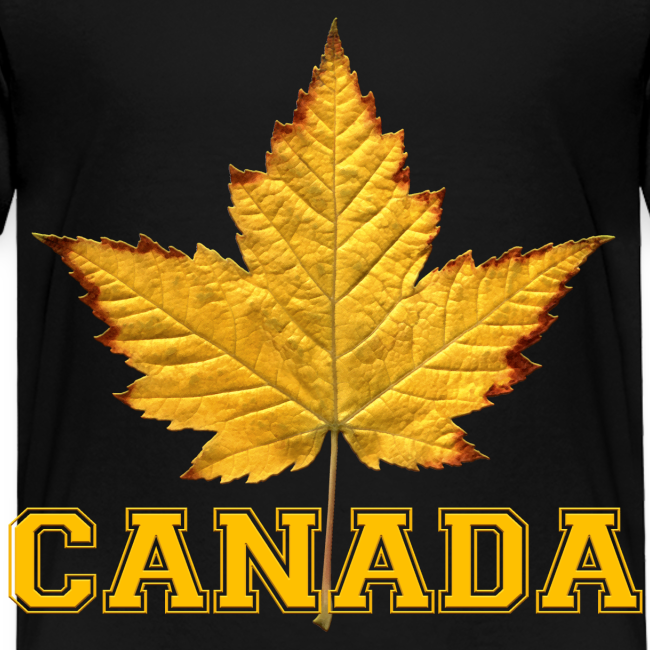 Toddler Canada T-shirt Canada Maple Leaf Baby Shirt