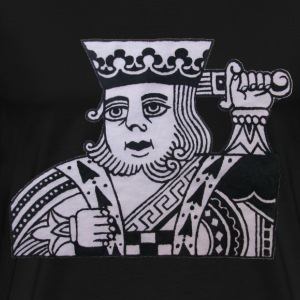 Black King Tee - Men's Premium T-Shirt