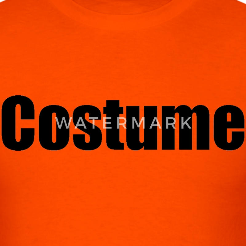 Orange Costume  T-Shirts - Men's T-Shirt