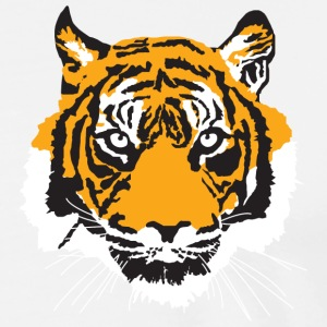 tiger logo - Men's Premium T-Shirt