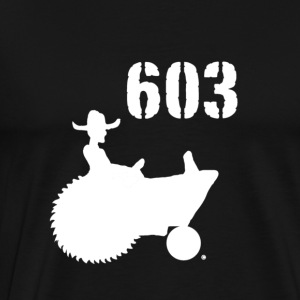603 New Hampshire shirt - Men's Premium T-Shirt