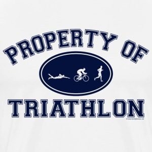 Property of Triathlon - Men's Premium T-Shirt
