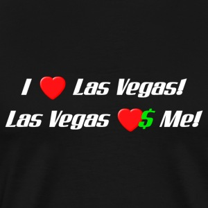 I Love Las Vegas! - Men's Premium T-Shirt