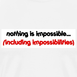 Impossibilities - Men's Premium T-Shirt
