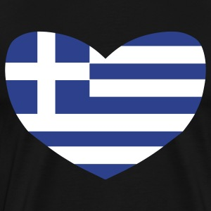 Black Love Greece T-Shirts - Men's Premium T-Shirt