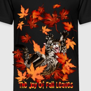 The Joy Of Fall Leaves - Toddler Premium T-Shirt