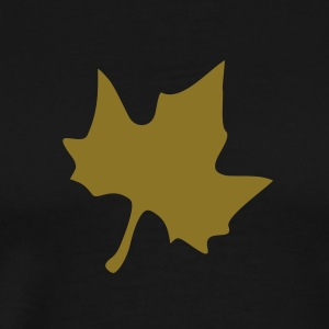 Elm leaf gold - Men's Premium T-Shirt