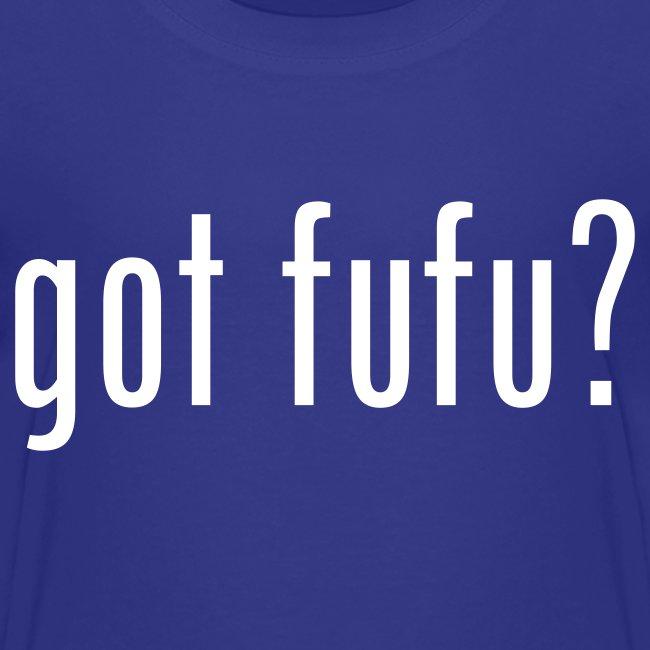 got fufu - Boy's Tee - Turquoise / white