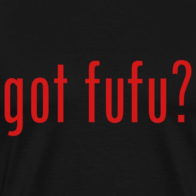 got fufu Men's 3XL - Black / Red