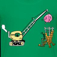 Design ~ Building ice cream coke- kids shirt