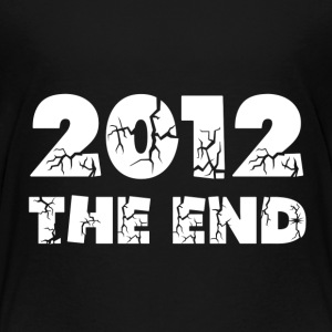 Black 2012 The End Toddler Shirts - Toddler Premium T-Shirt
