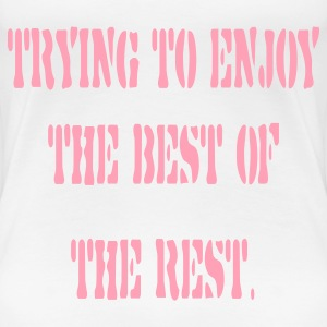 White best_of_the_rest Plus Size - Women's Premium T-Shirt