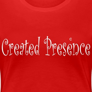 Red created_presence Plus Size - Women's Premium T-Shirt