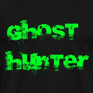 Black Ghost Hunter T-Shirts - Men's Premium T-Shirt