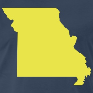 Navy Missouri T-Shirts - Men's Premium T-Shirt