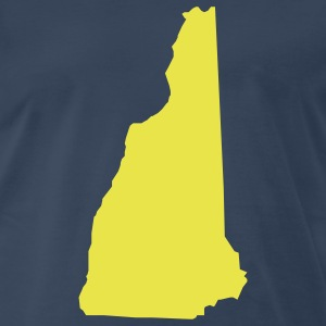 Navy New Hampshire T-Shirts - Men's Premium T-Shirt