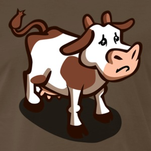 moo cow [pat edition] - Men's Premium T-Shirt