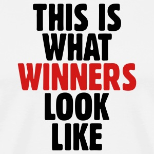 This is what winners look like T-Shirt - Men's Premium T-Shirt