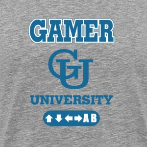 SplitReason - Gamer University T-Shirt - Men's Premium T-Shirt