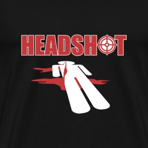SplitReason - Headshot T-Shirt - Men's Premium T-Shirt