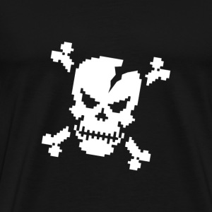SplitReason - PixSkull T-Shirt - Men's Premium T-Shirt