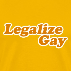 Legalize Gay - Men's Premium T-Shirt