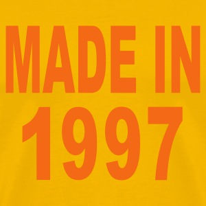 Gold Made in 1997 T-Shirts - Men's Premium T-Shirt