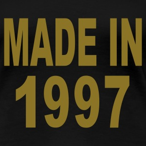 Black Made in 1997 Plus Size - Women's Premium T-Shirt