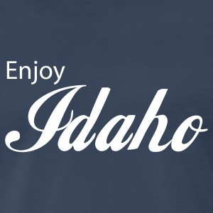 Navy idaho T-Shirts - Men's Premium T-Shirt