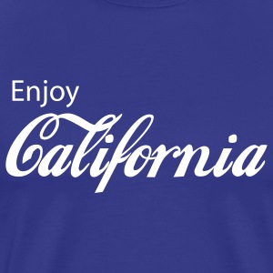 Royal blue california T-Shirts - Men's Premium T-Shirt