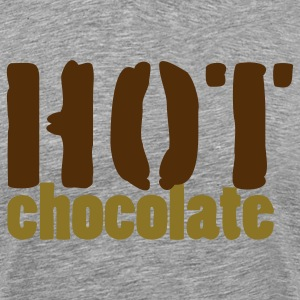 Heather grey hot chocolate T-Shirts - Men's Premium T-Shirt