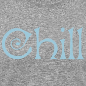Heather grey chill for winter T-Shirts - Men's Premium T-Shirt
