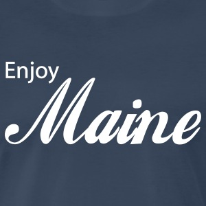 Navy maine T-Shirts - Men's Premium T-Shirt