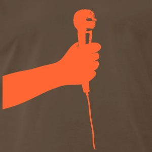 Chocolate microphone T-Shirts - Men's Premium T-Shirt