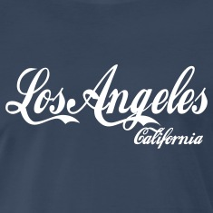 Navy los angeles california T-Shirts