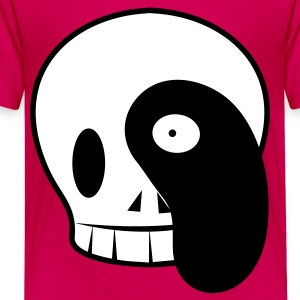 Hot pink cute and cool skull  Kids' Shirts - Kids' Premium T-Shirt