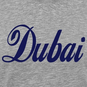 Heather grey dubai T-Shirts - Men's Premium T-Shirt